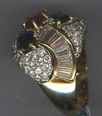 anello incassatura